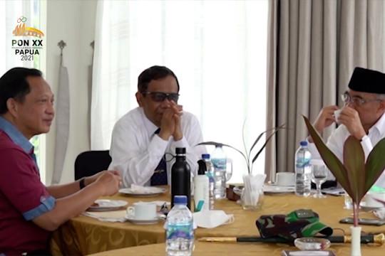 Menkopolhukam tinjau kesiapan Pembukaan PON XX Papua