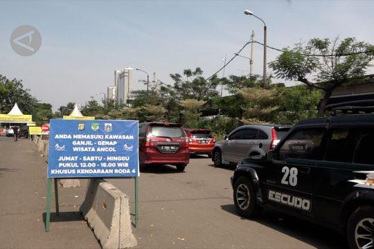 Pemberlakuan gage di kawasan wisata Ancol
