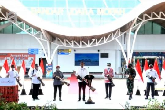 Presiden resmikan terminal baru Bandara Mopah di Merauke