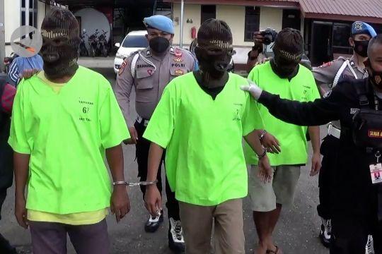 Tiga pengedar sabu jaringan Internasional dibekuk polisi