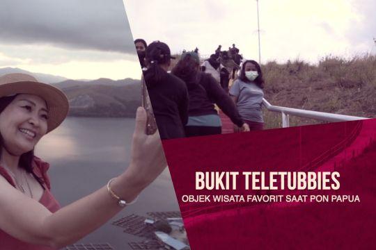 Bukit Teletubbies jadi objek wisata favorit saat PON Papua