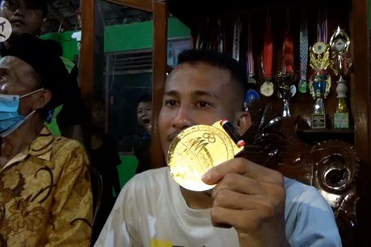 Atlet pencak silat PON nazar lari Salatiga - Klaten