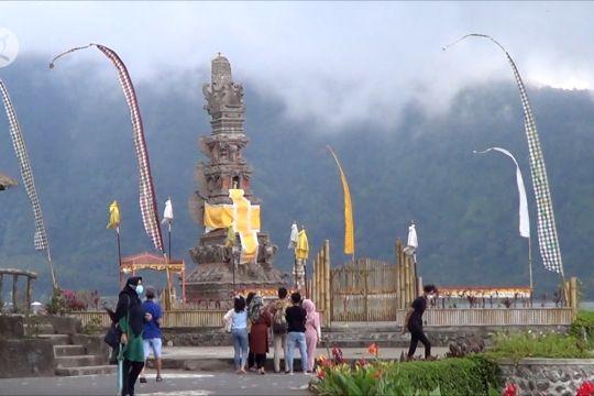 Pasca dibuka, wisata Bedugul Bali mulai ramai pelancong