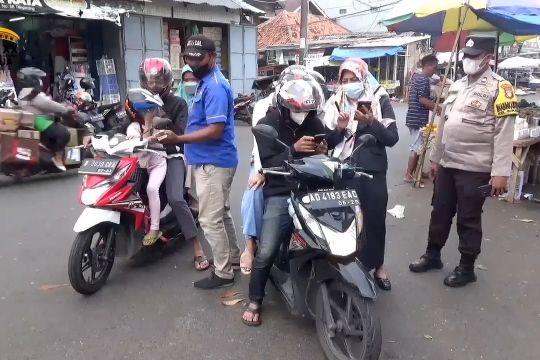 PD Pasar Kota Tangerang sosialisasikan PeduliLindungi