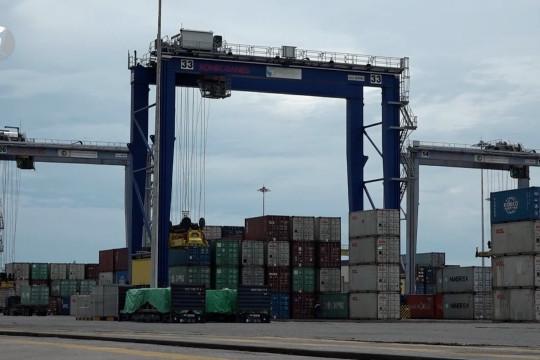 Rute baru pengiriman peti kemas dari Belawan geliatkan ekonomi