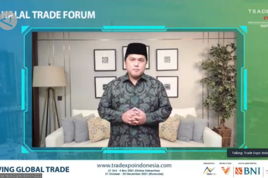 Erick Thohir dorong Indonesia masuk rantai nilai halal global