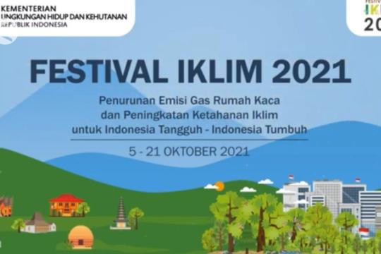 KLHK selenggarakan Festival Iklim 2021
