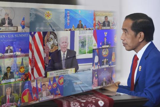 Jokowi sampaikan tiga harapan ASEAN kepada  AS