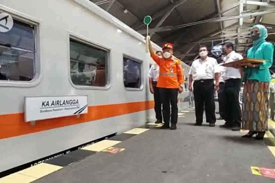 KA Airlangga, alternatif kereta ekonomi relasi Surabaya - Jakarta