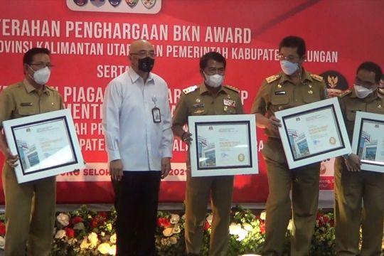 Kaltara raih prestasi di 3 kategori BKN Award 2021
