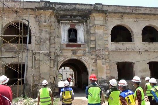 Kementerian PUPR pantau proses revitalisasi Benteng Pendem