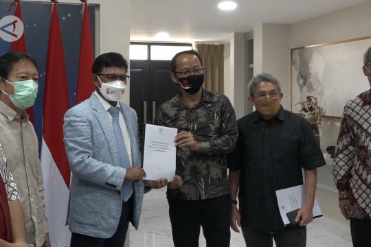 Menkominfo terima usulan hak publikasi dari Dewan Pers