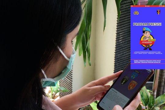 Masyarakat apresiasi aplikasi Propam Presisi