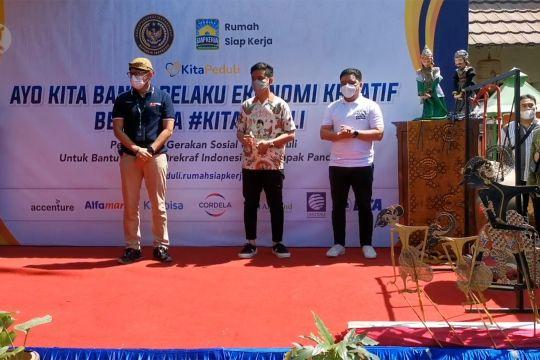 Menteri Sandi minta pelaku seni belajar dan ikuti kemajuan digital