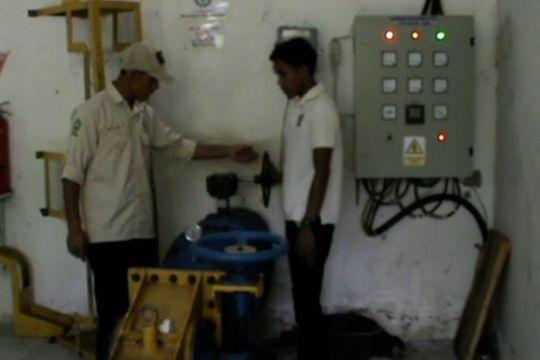 PLTMH Balantieng pelita di desa terpencil Sinjai