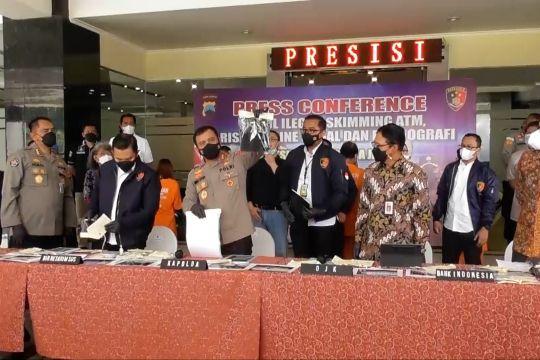 Polda Jateng ungkap sindikat pinjol ilegal