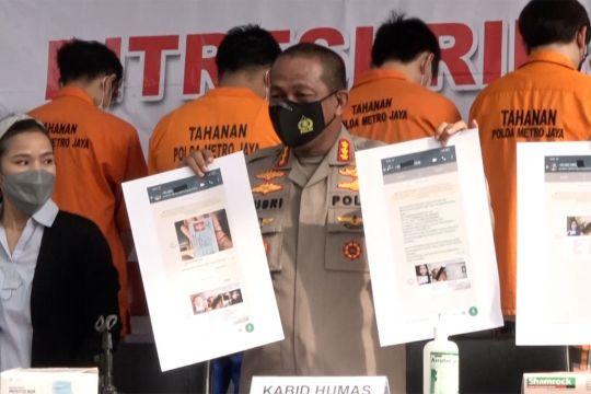 Polda Metro Jaya ungkap pinjaman online ilegal di 5 TKP
