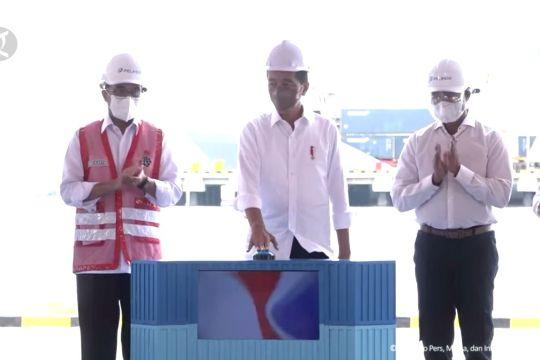 Presiden Jokowi resmikan penggabungan 4 Pelindo