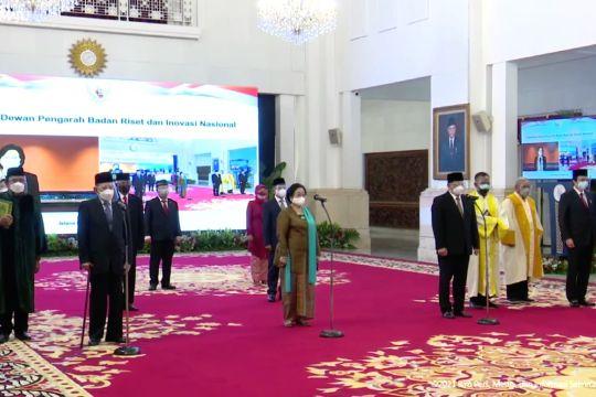 Presiden lantik Dewan Pengarah BRIN, Megawati sebagai ketua