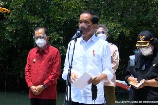 Presiden: Mangrove Bali percontohan untuk kawasan lain