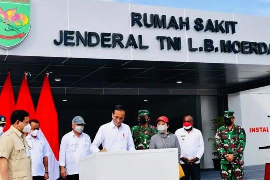 Presiden resmikan RS Jenderal TNI L.B Moerdani di Merauke