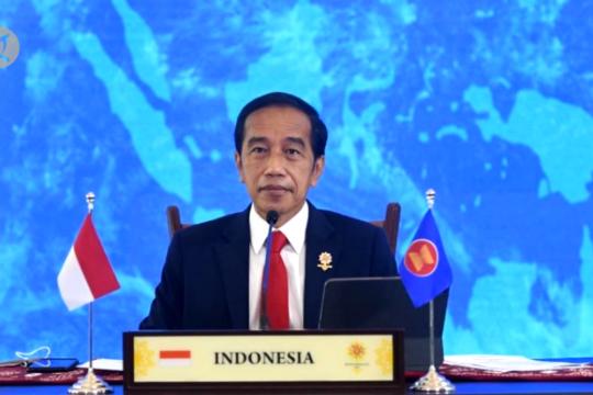 Presiden Jokowi minta ASEAN tetap tawarkan bantuan ke Myanmar