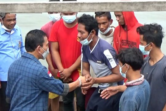 10 Nelayan yang terdampar di Malaysia dilepas dan dipulangkan