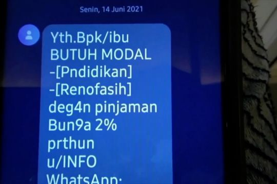 Kepolisian siapkan platform identifikasi pinjaman online