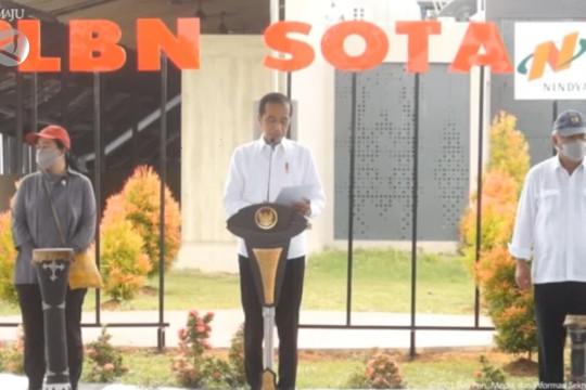 Presiden harap PLBN Sota berikan pelayanan terbaik di perbatasan