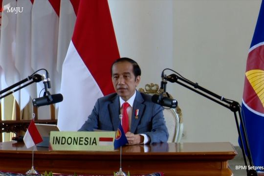 Presiden Jokowi dorong Asean Australia jaga perdamaian kawasan