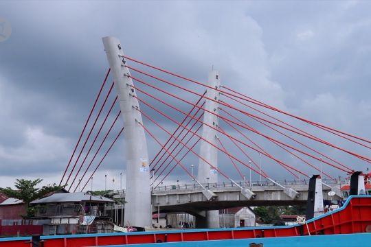 Presiden Jokowi resmikan Jembatan Sei Alalak Banjarmasin