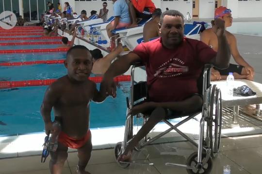 Papua target 45 medali emas renang Peparnas XVI