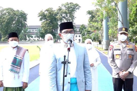 Ridwan Kamil minta santri jadi teladan prokes dan vaksinasi