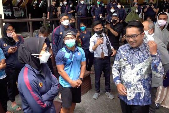 Ridwan Kamil pastikan seluruh kontingen PON jalani karantina