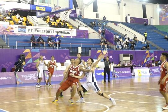 Basket Jabar gunduli Kalsel