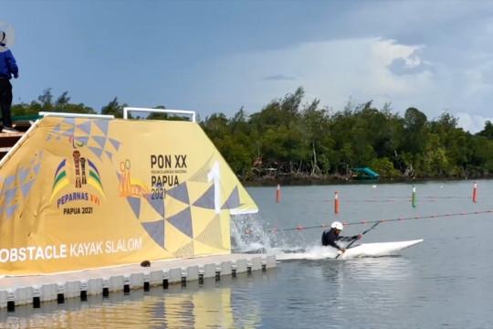 Jabar dapat tiga medali emas dari dayung slalom