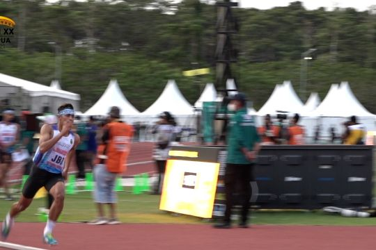 Jabar menangi medali emas lari estafet 4 x 400 meter putra