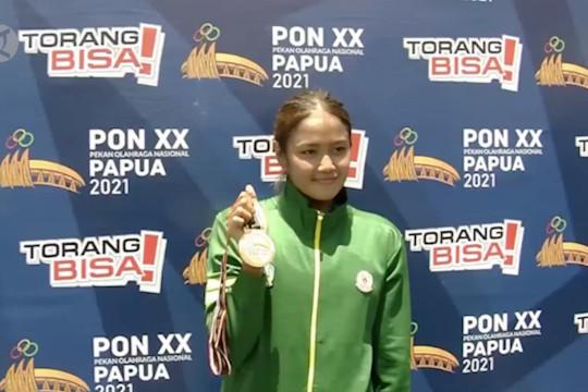 Jatim raih medali emas pertama dari renang terbuka PON XX