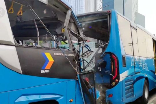 Kadishub pastikan bus Transjakarta yang terlibat kecelakaan laik jalan
