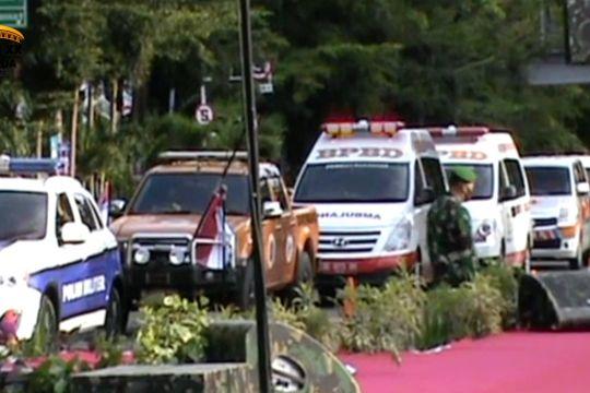 Kepala BNPB luncurkan mobil masker
