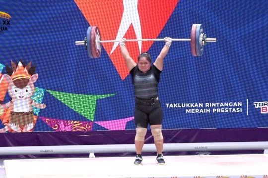 Riau dapat medali emas dari lifter putri Maharani