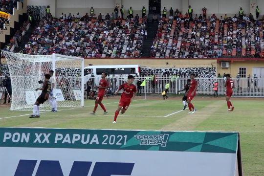 Sepak bola putra Papua amankan medali emas