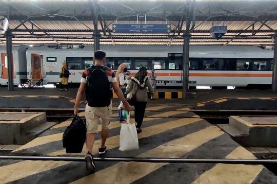 Okupansi penumpang kereta di Daop IV Semarang menggeliat positif