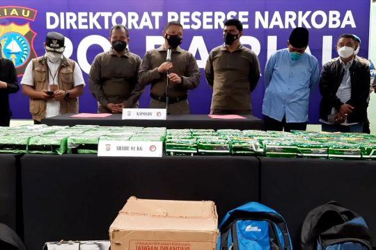Polisi ungkap kasus 81 kg sabu yang dikendalikan dari Malaysia