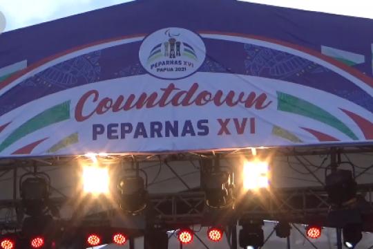 PB Peparnas XVI Papua gelar hitung mundur