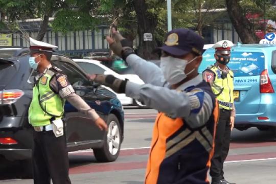 3 hari pertama ganjil-genap di Jakarta, tilang belum berlaku