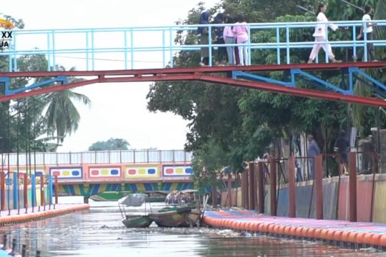 Restorasi sungai di Palembang, sebagian rampung