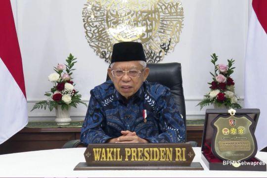 Wapres minta TNI-Polri percepat vaksinasi di daerah