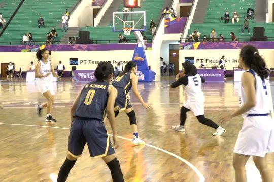 Tim Basket Putri Jateng tuntaskan PON XX tanpa kemenangan