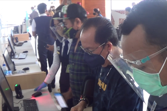 Bandara Bali fasilitasi penumpang tanpa aplikasi Peduli Lindungi